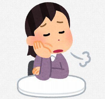 日本人が最もため息をつくのはどんな時?